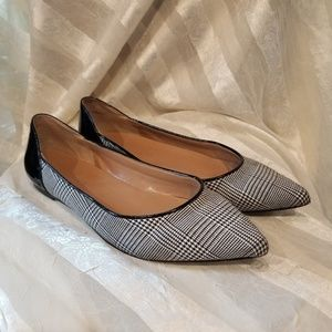 Talbots black & white flats
